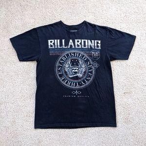 Billabong Logo Short Sleeve T-Shirt Men's Large Black